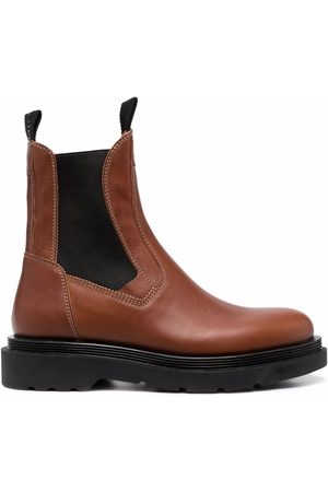 Buttero Leather chelsea boots