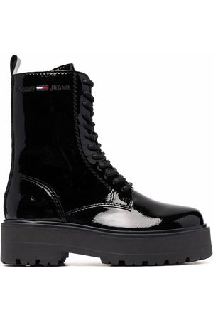 Tommy Hilfiger Mujer Botas y Botines - Patent lace-up boots