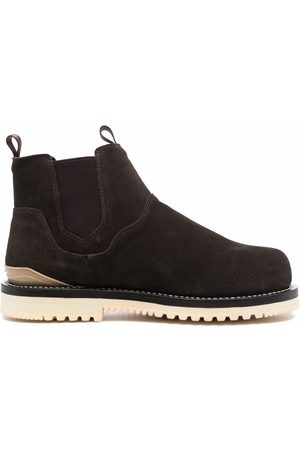 SUICOKE Leather ankle boots