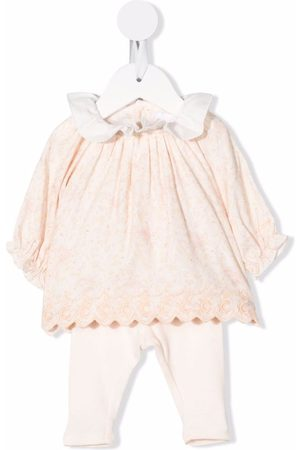 Chloé Embroidered cotton set