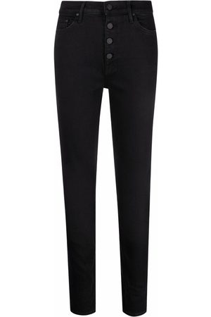 Mother Mujer Skinny - Vaqueros The Pixie skinny con botones