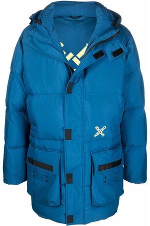 Kenzo Hombre Abrigos - Padded hooded coat