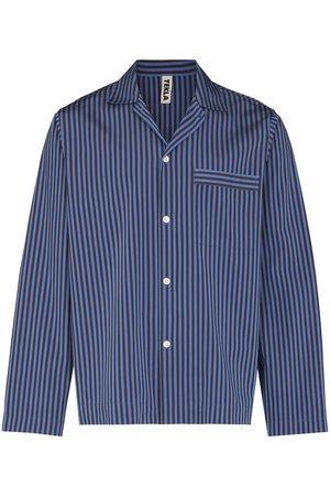 Tekla Hombre Pijamas - Camisa de pijama a rayas