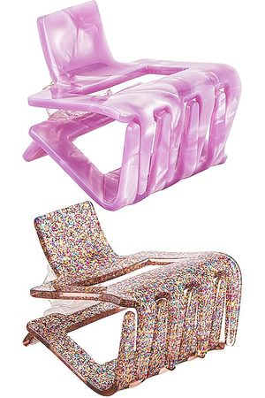 petit moments Conjunto de clips claw en color rosado talla all en - Pink. Talla all.
