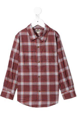 BONTON Niño Camisas - Camisa con motivo de cuadros