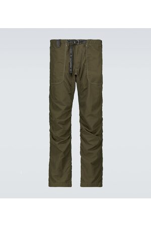 and wander Pantalones de nylon con cinturón
