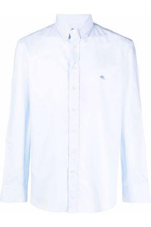 Etro Hombre Camisas - Camisa con logo bordado
