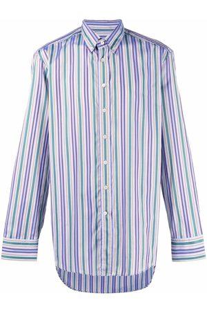 Etro Hombre Camisas - Camisa con estampado de rayas
