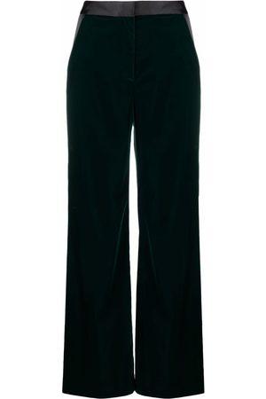 Karl Lagerfeld Mujer Acampanados - Pantalones acampanados con tiro alto