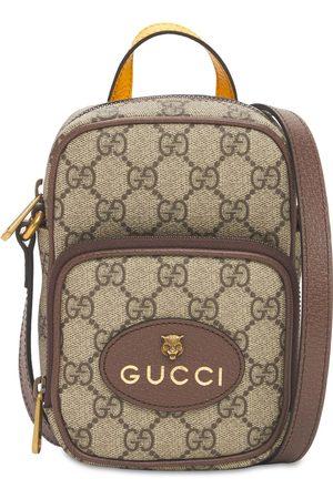 """Gucci Bolso Mini """"gg Supreme"""" De Lona"""