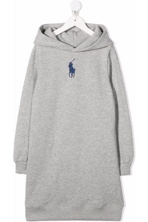 Ralph Lauren Kids Niña Vestidos - Vestido con logo bordado