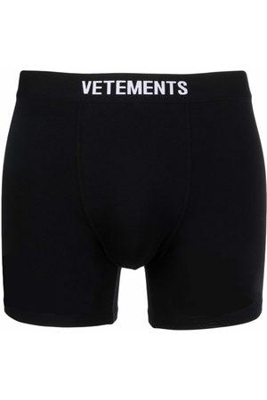 Vetements Hombre Boxers y trusas - Bóxer con logo en la pretina