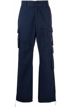Palm Angels Hombre Cargo - Pantalones cargo rectos