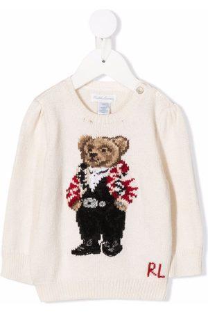 Ralph Lauren Kids Polos - Suéter con motivo Polo Bear