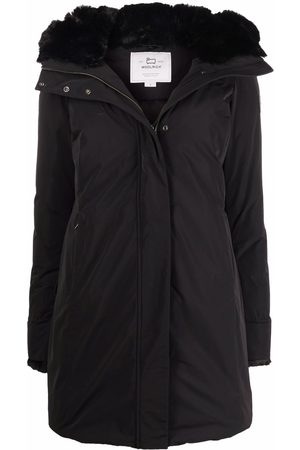 Woolrich Mujer Gabardinas - Abrigo capitonado con capucha
