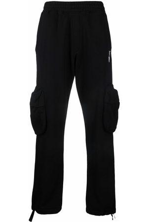 OFF-WHITE Hombre Cargo - Pantalones cargo con logo estampado