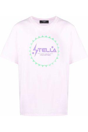 Stella McCartney Playeras - Playera con logo estampado