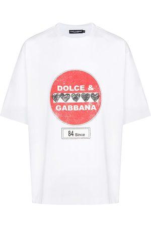 Dolce & Gabbana Hombre Playeras - Camiseta con motivo de señal