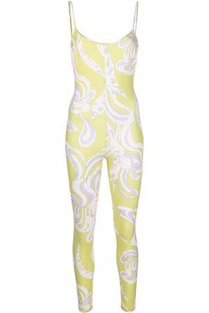 Emilio Pucci Mujer Largos - Jumpsuit con estampado Farfalle