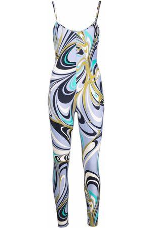 Emilio Pucci Mujer Largos - Jumpsuit con estampado abstracto