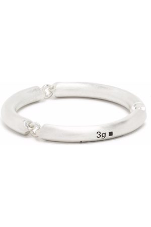 Le Gramme Anillos - 3g brushed link ring