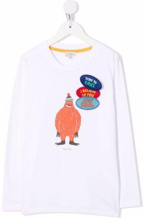 Paul Smith Niño Playeras - Camiseta con estampado gráfico
