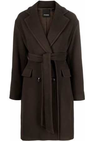Pinko Double-breasted wrap coat
