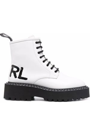 Karl Lagerfeld Patrol II lace-up boots