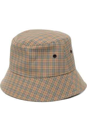 Burberry Mujer Sombreros - Technical check bucket hat