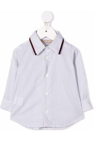 LA STUPENDERIA Camisas - Striped button-up shirt