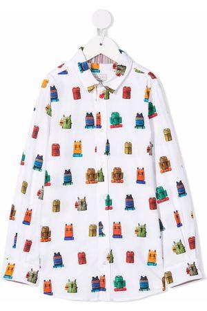 Paul Smith Niño Camisas - Graphic-print shirt