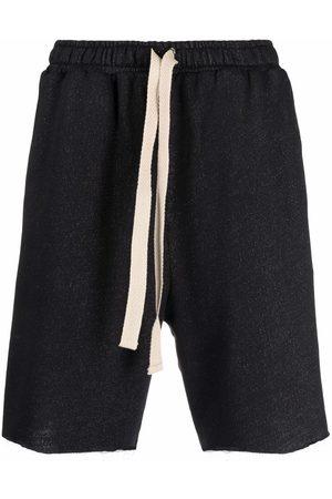 Alchemy Hombre Bermudas - Raw-cut drawstring shorts