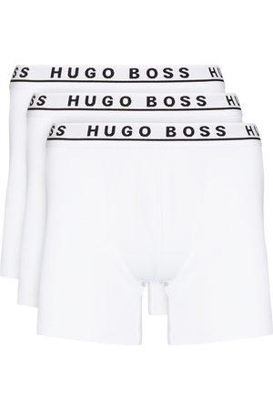 HUGO BOSS Hombre Calcetines - Pack de tres bóxeres