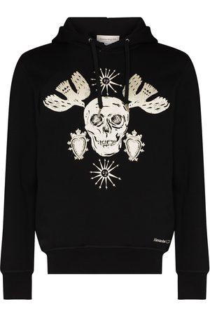 Alexander McQueen Hombre Con capucha - Hoodie con motivo Skull