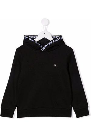 Calvin Klein Niño Con capucha - Sudadera con capucha y logo estampado