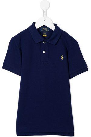 Ralph Lauren Niño Polos - Playera tipo polo con logo bordado