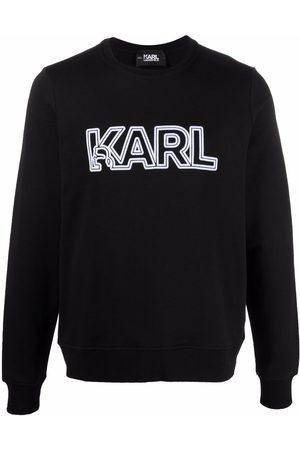 Karl Lagerfeld Sudadera con logo estampado