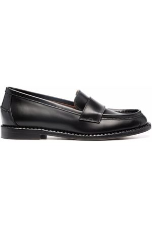 L'Autre Chose Round-toe leather loafers