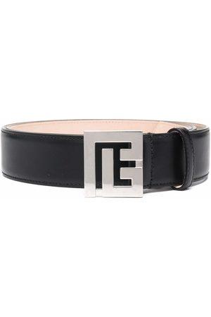 Balmain Hombre Cinturones - Cinturón con hebilla del monograma
