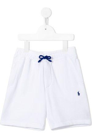 Ralph Lauren Niño Bermudas - Shorts con logo bordado