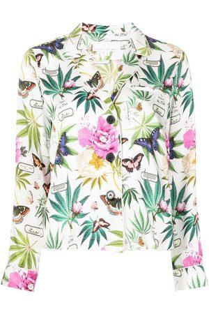 FLEUR DU MAL Mujer Pijamas - Fleur pajama-style shirt