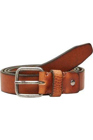 SELECTED Cinturón Cuero Henry 105 cm Cognac