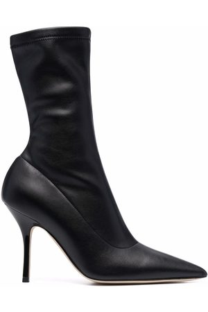 PARIS TEXAS Mujer Botines - Pointed leather stiletto ankle boots