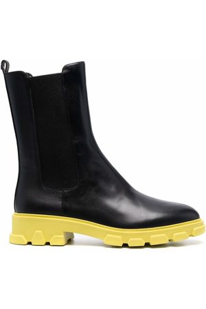 Michael Kors Contrast-sole leather Chelsea boots