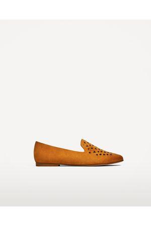Mujer Zapatos - Zara ZAPATO PLANO DETALLE TROQUELADO