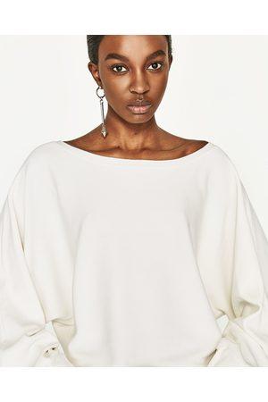 Mujer Zara JERSEY MANGA AMPLIA - Disponible en más colores