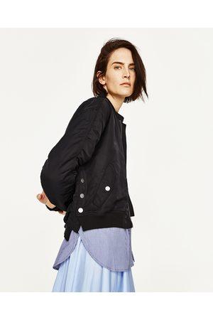 Mujer Camisas y Blusas - Zara BOMBER CON CAMISA