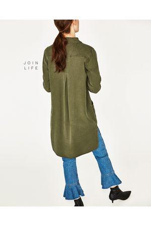 Mujer Vestidos - Zara VESTIDO CAMISERO - Disponible en más colores