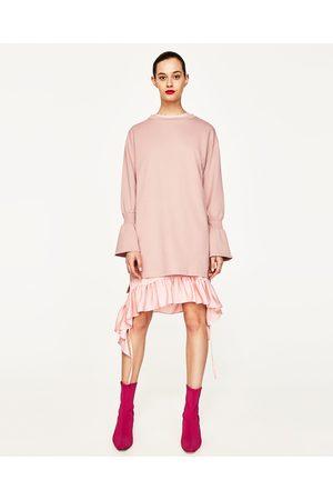 Mujer Vestidos - Zara VESTIDO FELPA MANGA CAMPANA - Disponible en más colores