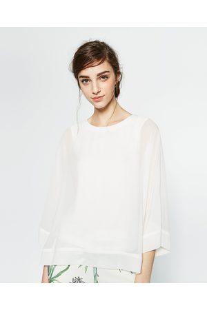 Mujer Camisas y Blusas - Zara CUERPO MANGA JAPONESA - Disponible en más colores